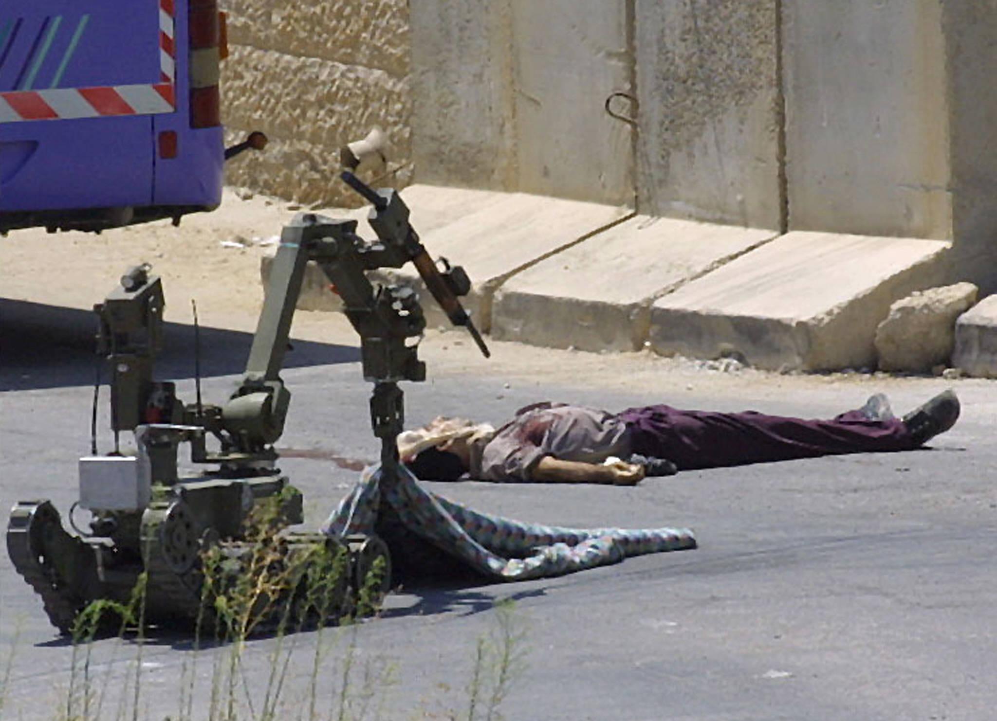 Israeli-police-robot