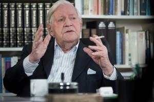 Altkanzler Helmut Schmidt / Foto: dpa picture-alliance