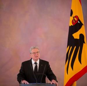 Bundespräsident Joachim Gauck / Foto: Kay Nietfeld/dpa