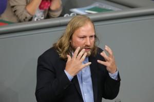 Der Fraktionsvorsitzende von Bündnis 90/Die Grünen, Anton Hofreiter / Foto: Wolfgang Kumm/dpa