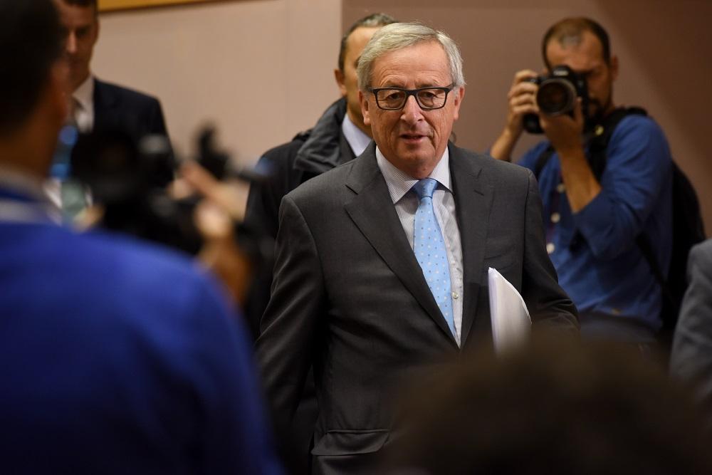 Jean-Claude Juncker vor dem TAXE-Sonderausschuss zur Luxleaks-Affäre © European Union 2015
