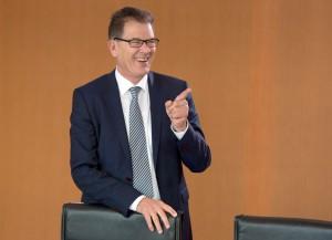 Bundesentwicklungsminister Gerd Müller (CSU) / Foto: Soeren Stache/dpa