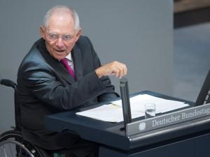 Wolfgang Schäuble / Foto: Maurizio Gambarini dpa