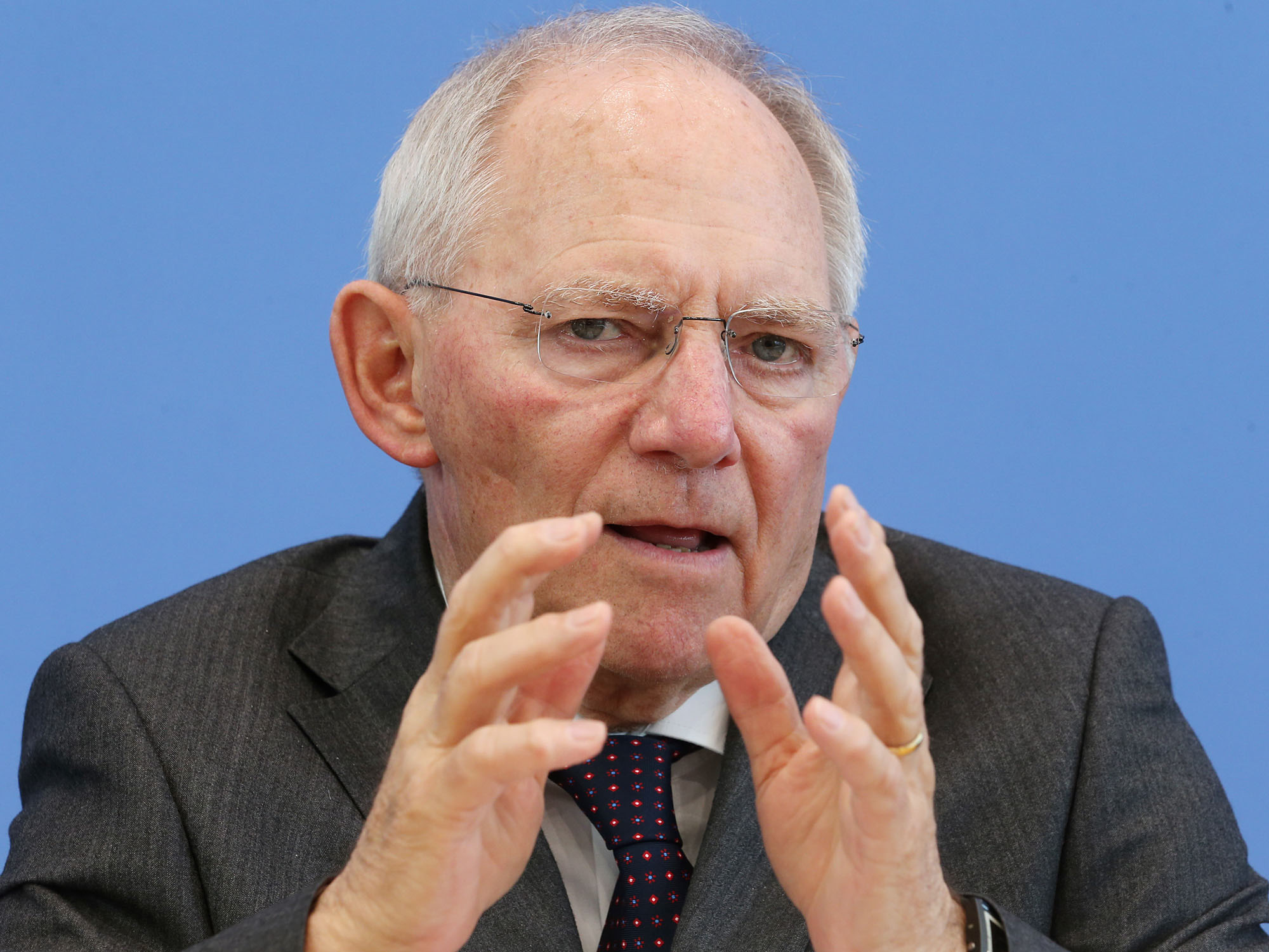Wolfgang Schäuble / Foto: dpa picture-alliance
