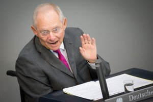 Bundesfinanzminister Wolfgang Schäuble (CDU) / Foto: Kay Nietfeld/dpa