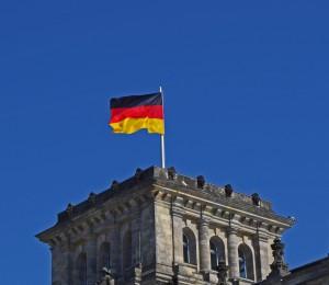 Fahne im Wind / Deutschlandradio © Ansgar Rossi