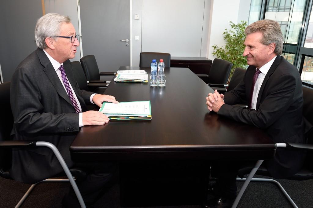 Für Deutschland wird Günther Oettinger EU-Kommissar bleiben. © European Union, 2014