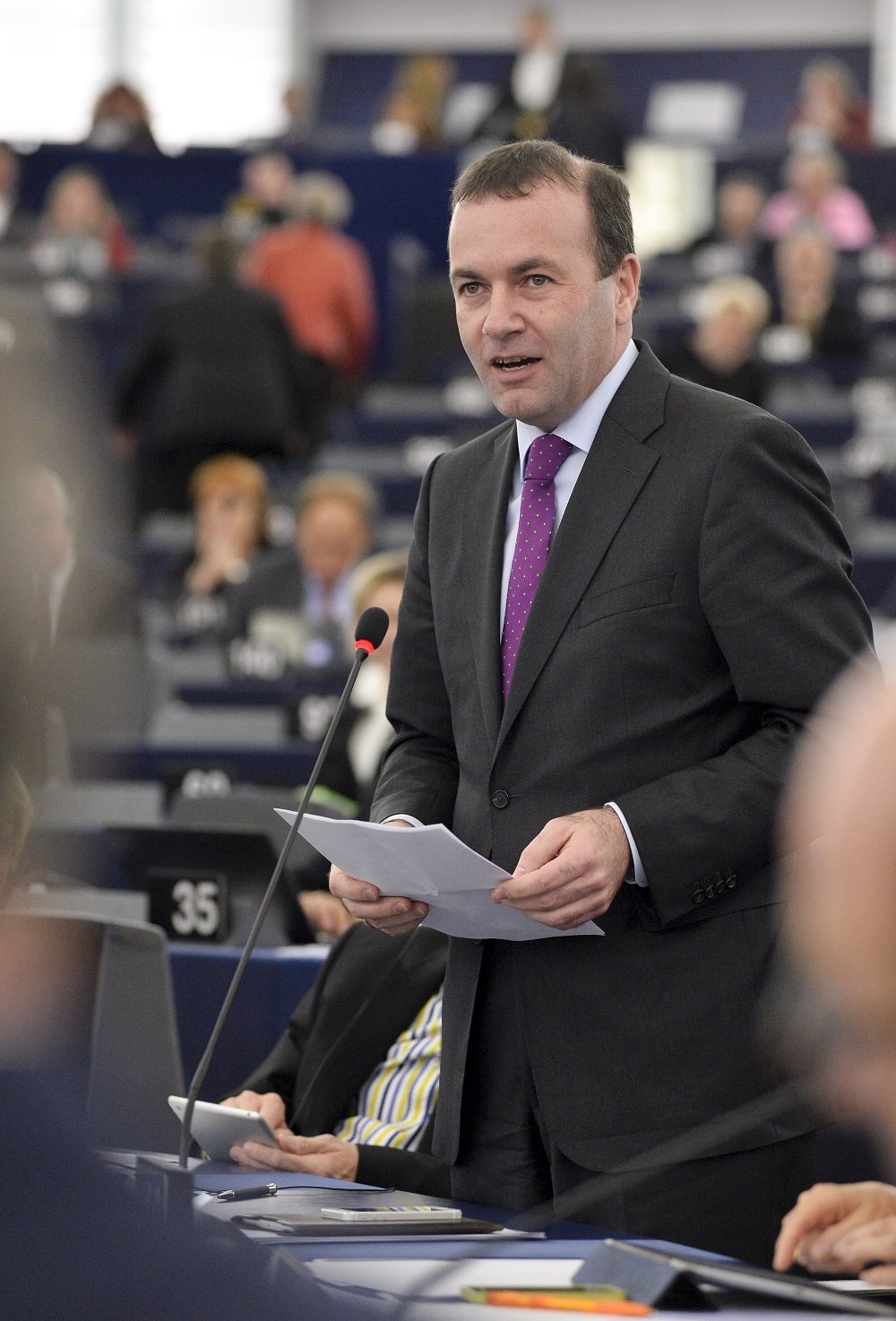 Manfred Weber © European Union 2014 EP