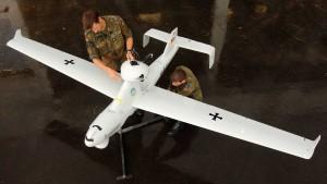 Bundeswehr-Drohne / © Martin Schutt dpa-Report