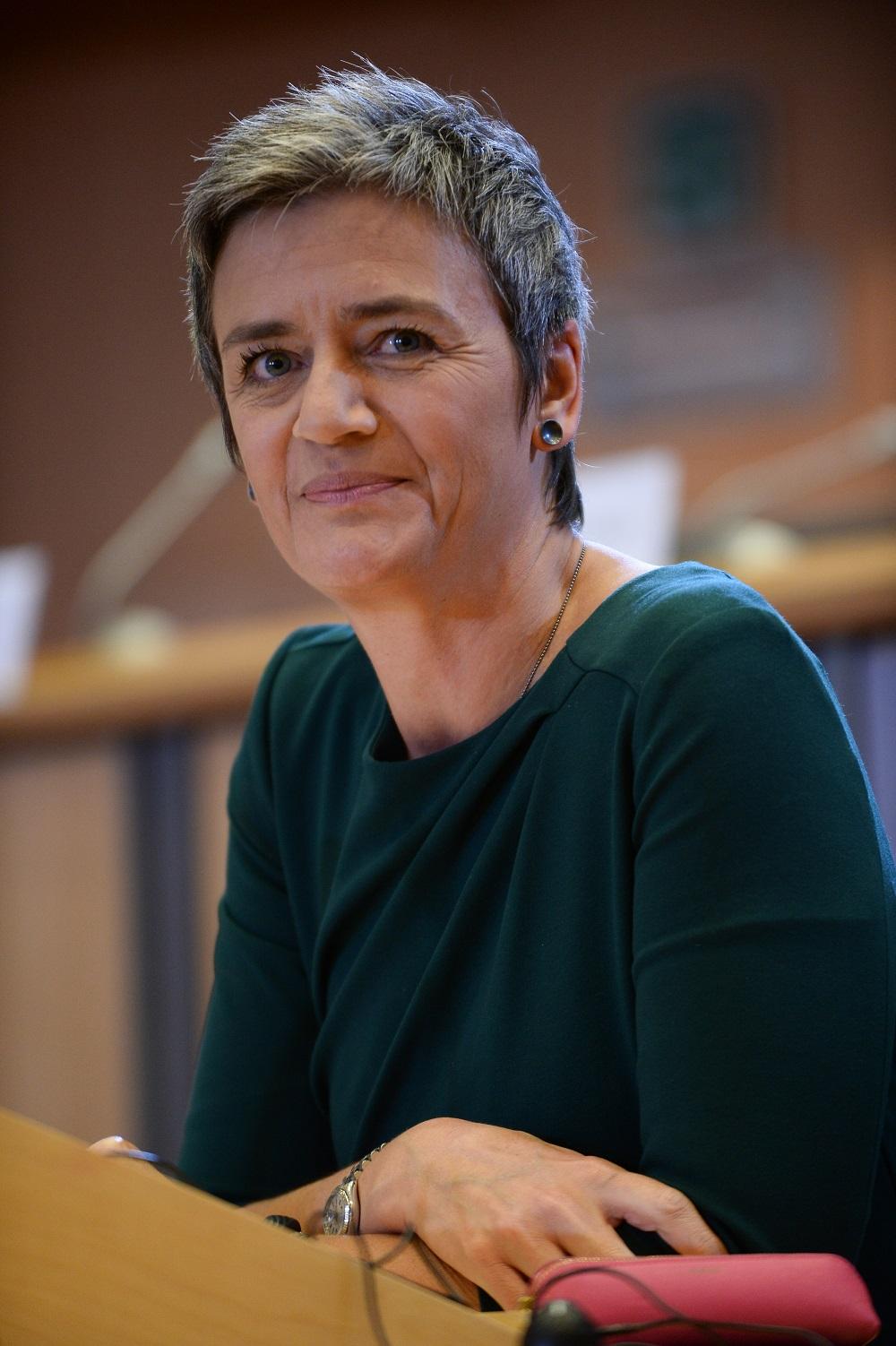 Margrethe Vestager © European Union, 2014