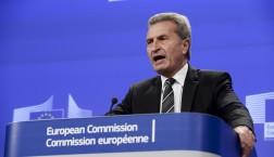 Günther Oettinger © European Union, 2014