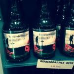 Remembrance Beer (c) Christiane Habermalz / Deutschlandradio Hauptstadtstudio
