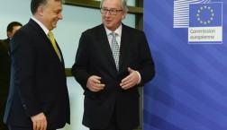 Viktor Orban und Jean-Claude Juncker (v.l.n.r.) © European Union 2015