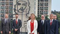 EU-Außenbeauftragte Federica Mogherini bei ihrem Besuch in Havanna © European Union