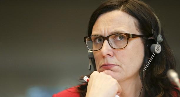 Handelskommissarin Cecilia Malmström im Handelsausschuss des EU-Parlaments © European Union 2015 - EP