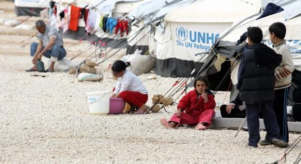 Syrien-Flüchtlinge im jordanischen Aufflanglager Zaatari © European Union 2013 - EP
