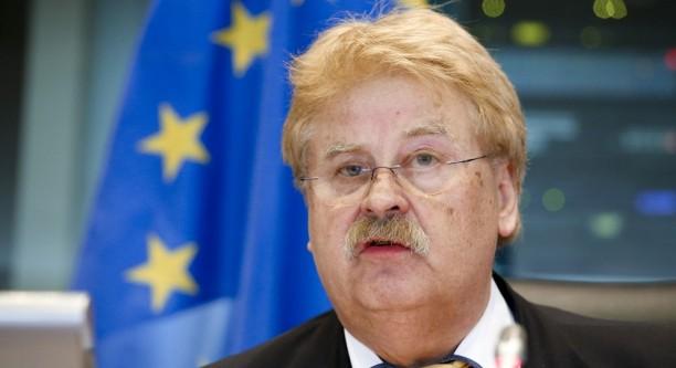 Elmar Brok (CDU), Vorsitzender des Auswärtigen Ausschusses im Europaparlament wird Berater des ukrainischen Präsidenten Petro Poroschenko © European Union 2015 - Source EP