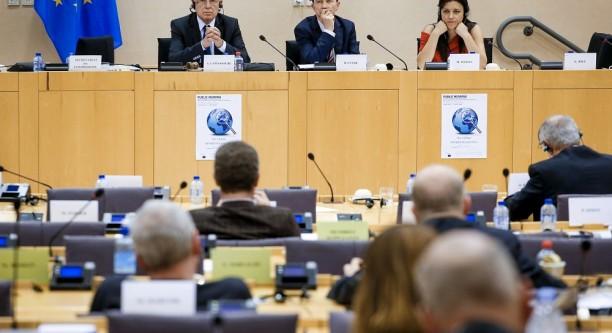 TAXE-Sonderausschuss im Europaparlament © European Union 2015 - Source EP