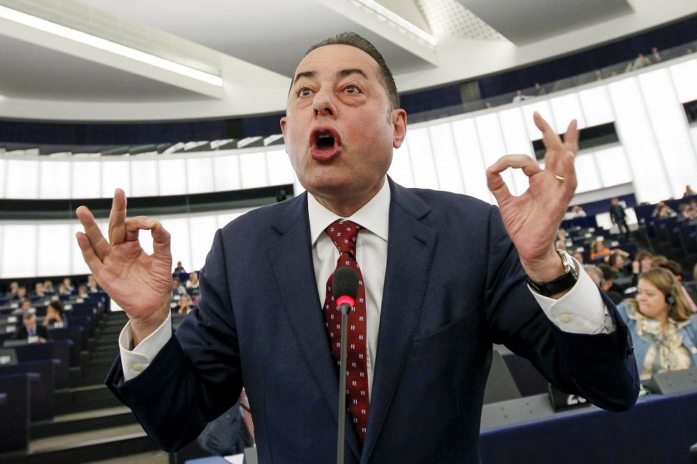 Gianni Pittella (Sozialdemokratien) bei der Debatte um die TTIP-Abstimmung im Europaparlament © European Union 2015 - source:EP
