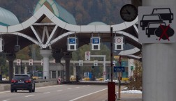 Grenzübergang Villach zwischen Österreich und Slowenien. Foto: Simicek Vladimir © European Union 2015 - EC