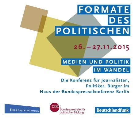 Konferenz: Formate des Politischen, #formate15