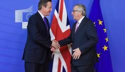 David Cameron zu Besuch bei EU-Kommissionspräsident Jean-Claude Juncker in Brüssel © European Union, 2015