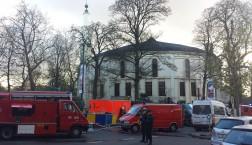 Die Große Moschee im Brüsseler Jubelpark. Foto: Jenny Genzmer