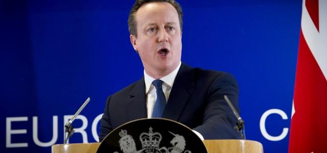David Cameron bei seiner Pressekonferenz nach dem EU-Gipfel © The European Union