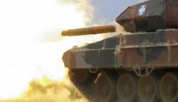 """""""Wumm"""" macht der Panzer der griechischen Armee. Im Online-Journalismus sind Symbolbilder unerlässlich. Und Panzer klicken sich immer gut! Auch, wenn sie mit dem Thema gar nichts zu tun haben. Foto: army.gr."""
