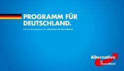 Programm für Deutschland? Wir schauen es uns Stück für Stück an.
