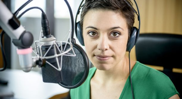 Deutschlandradio – Hauptstadtstudio  Katharina Hamberger / Foto: Bettina Straub