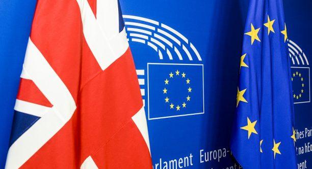 Noch hängt der Union Jack im EU-Parlament © European Union 2015 - Source EP