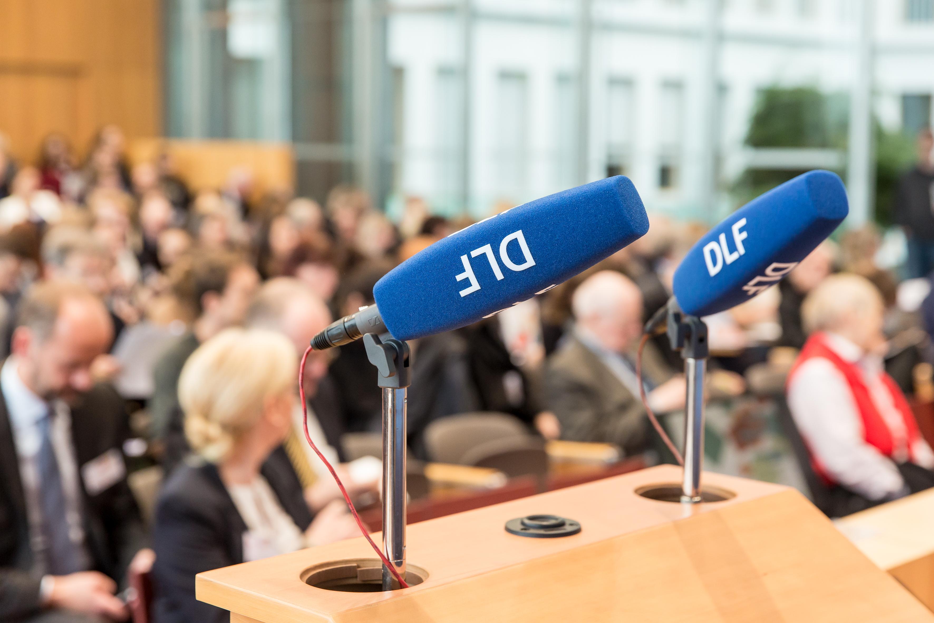 """""""Formate des Politischen 2015 / Foto: Bettina Straub, Deutschlandradio"""