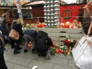 Breitscheidplatz nach dem Anschlag 20.12.2016 / Foto: Paul Vorreiter