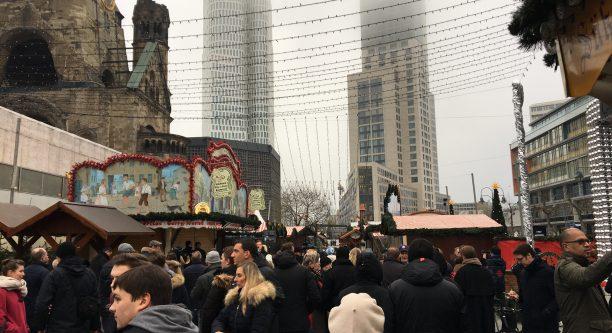 Am Tag nach dem Anschlag auf dem Breitscheidplatz / Foto: Paul Vorreiter Deutschlandradio