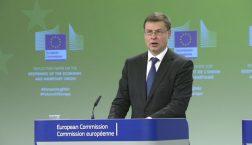 Vize-Kommissionspräsident Valdis Dombrovskis © European Union 2017