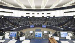 Ganz so leer wie hier war der Plenarsaal in Straßburg zum Glück nicht © European Union 2017