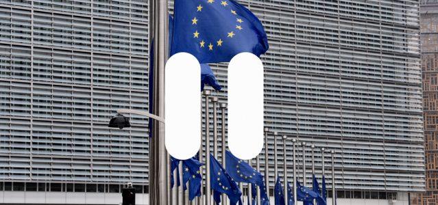 Brüssel auf Pause. Foto (bearbeitet) © European Union, 2017